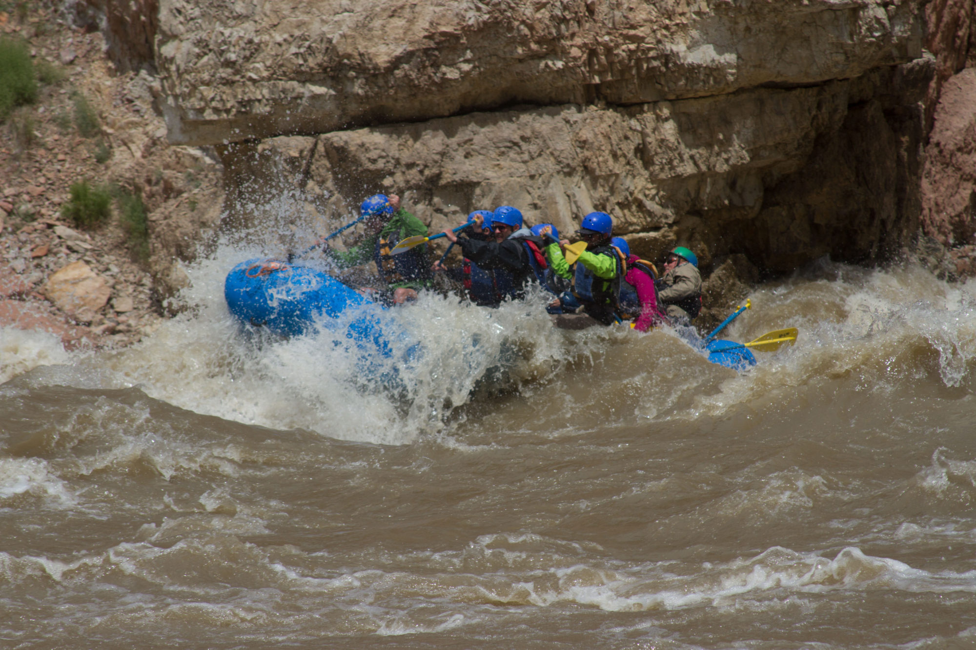Green River Rafting Daily Adrift Dinosaur Utah