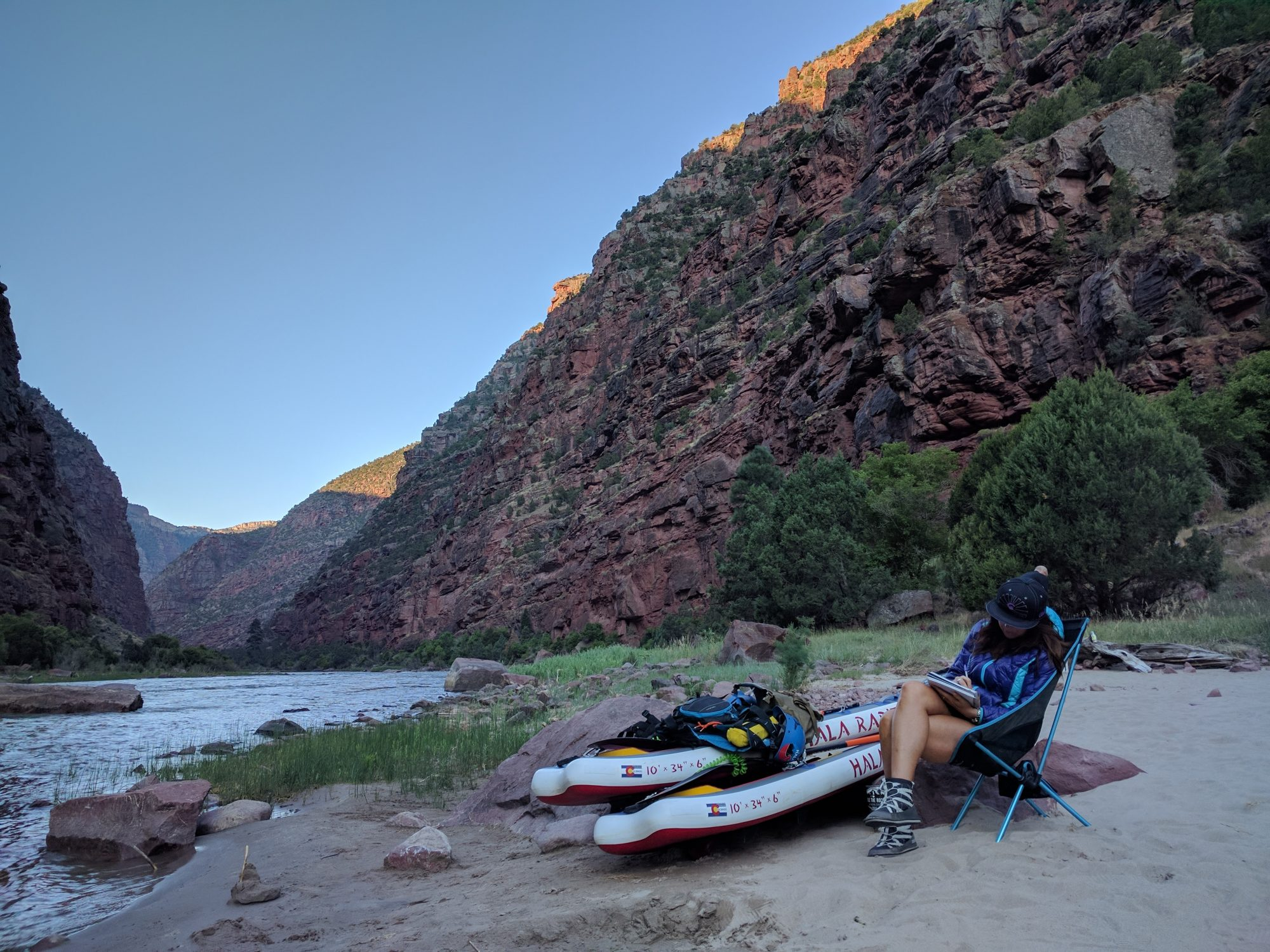 Escape Adrift Dinosaur Utah Colorado Stand Up Paddle