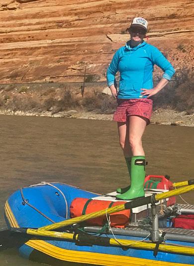 Abby Tubbs Adrift Dinosaur Utah Colorado Stand Up